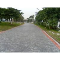 Buy cheap Patio / Garden Natural Paving Stones Natural Black Basalt / Slate Material from wholesalers