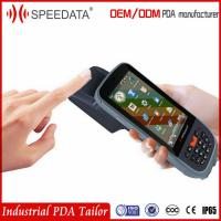 Buy cheap 3G WIFI GPRS Chip Card Handheld Rfid Reader Writer With USB Fingerprint Scanner from wholesalers