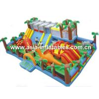 Buy cheap Dinosaur Theme Inflatable Funcity For Outdoor Inflatable Children Games from wholesalers