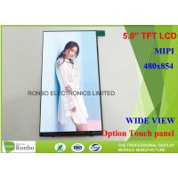 Buy cheap MIPI Interface Cell Phone LCD Display Wide View 5 Inch Thin and Narrow LCD Panel from wholesalers