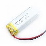 Buy cheap 102050 Flexible Thin Lipo 3.7 V 1000mah Lithium Polymer Battery from wholesalers