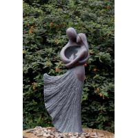 Lover Sculpture Water Fountains , Copper Outdoor Water Fountains For Backyard