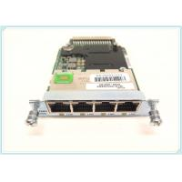 Buy cheap Enhanced High Speed Wan Interface Card Cisco 4 Port 10 / 100 / 1000 Base - T product