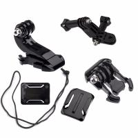 Buy cheap Universal Action Camera Accessories Set J-shaped Buckle Mount Long Screws 3 Way Adjustable Arm Adapter For GoPro 3 3+ 4 product