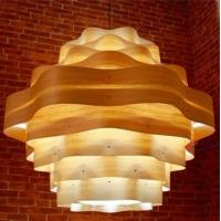 Buy cheap Lantern style hotel wood ceiling light hanging light HTP1010-45 from wholesalers