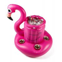 Buy cheap Pink Flamingo Inflatable Swimming Pool Drink Cooler With Digital Printing from wholesalers