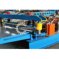 Buy cheap Galvanized Metal Sheet Forming Machine / Building Material Machine Low Noise from wholesalers