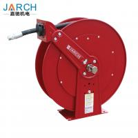 Buy cheap Medium Pressure Oil Hose Reels , Dual Pedestal Fuel Spring Retractable Reels 1250 PSI 3/4 from wholesalers