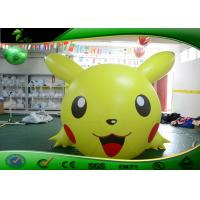 Buy cheap Pikachu 3.5M Long Inflatable Cartoon Characters Lovely Pokemon Figures CE Approval from wholesalers