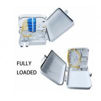 Buy cheap Anti Water 12 Core Fiber Optic Distribution Box Round Wire Material Shape from wholesalers