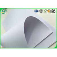 100% Virgin Pulp White Bond Paper 53 Gsm / 55gsm For Magazine Instruction Manuals
