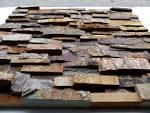 Buy cheap natural slate ledgestone tile for wall decoration from wholesalers