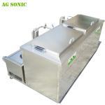Buy cheap Double Tanks Ultrasonic Engine Cleaner , Waterproof Engine Block Washing Machine from wholesalers