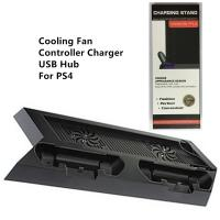 Buy cheap Cooling Fan Charging Stand Station with Dualshock charger and USB Hub for PS4 from wholesalers
