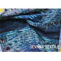 Buy cheap Semi Dull Lycra Spandex Fabric , Vanish Patterned Lycra Stretch Fabric product