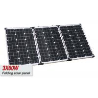 Buy cheap 180W Portable Solar Power PanelsWith High Strength Low Iron Toughened Glass from wholesalers