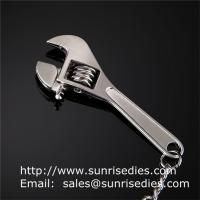 Buy cheap Metal tool wrench holder key tags, in stock metal spanner tool pendant keychains from wholesalers