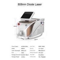 Buy cheap 20 million shots 808 nm portable diode laser hair removal machine price from wholesalers