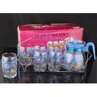 Buy cheap 7PCS Glass Drink Set/Stainless Steel Stand (LFR1696) from wholesalers