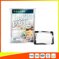Buy cheap Waterproof Baking Paper Sheets / Non Toxic Parchment Paper Heat Resistant 20 * 30cm from wholesalers
