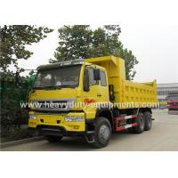 China Golden prince 371hp dumper truck for large capacity sand transportation with warranty on sale