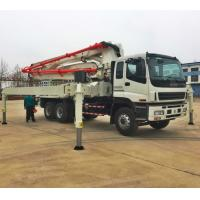 Buy cheap China truck mounted concrete pump, 28,32,37,42,48,52m ISUZU Concrete Pump Truck from wholesalers
