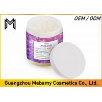 Buy cheap 100% Natural Exfoliating Body Scrub Lavender Smell Dead Sea Salt Moisturizing Skin product