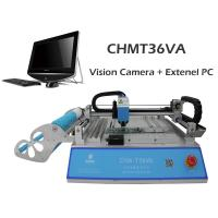 Buy cheap Best seller CHMT36VA dual vision camera + External PC, SMT Pick And Place Machine, Closed-loop control, 110VAC / 220VAC from wholesalers