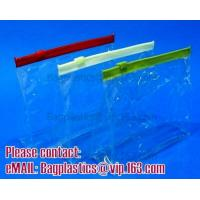 Buy cheap Promotional Clear PVC Travel Cosmetic Bag, zip lock pvc bag/pouches plastic packing bag from wholesalers