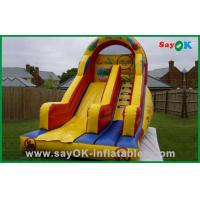 Buy cheap Commercial Playground Inflatable Bouncer Slide Plato PVC Air Bouncer For Children from wholesalers