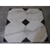 Buy cheap Guangxi White Marble Floor Tiles,Chinese Carrara Marble White Marble Designed Indoor Flooring,White Marble Floor Stone from wholesalers