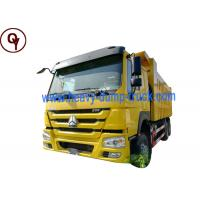 Buy cheap China Sinotruk Howo right hand drive heavy duty tipper dump truck 6x4 from wholesalers