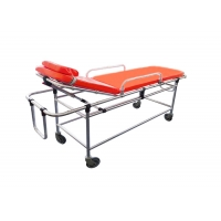 Buy cheap Non-magnetic Alloy Portable Emergency Automatic Ambulance Stretcher Bed for MRI for Hospital from wholesalers