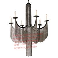 Buy cheap YL-L1027 Italy Design Large Big Aluminum Chain Chandelier Wrought Iron Pendant Hanging Lamp Light Lighting from wholesalers