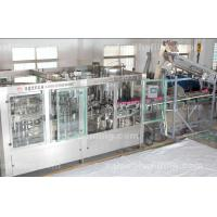 Buy cheap Plastic Bottle Pesticide filling machine , mineral water rinsing filling capping machine from wholesalers
