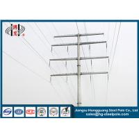 Buy cheap 35KV Polygonal Anti-rust Steel Tubular Pole For Electrical Power Transmission Line product