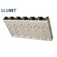 Buy cheap 6 Ports Ganged SFP Cage Compatible With SFP Transceiver Press Fit from wholesalers