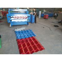 Buy cheap Bamboo Style Glazed Tile Roll Forming Machine 7 Meter Double Layer Type from wholesalers