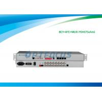 Buy cheap 8 E1 Mux PDH Multiplexer 19 Rack , High Voltage Multiplexer Digital Multiplexing from wholesalers