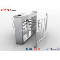Buy cheap Durable Half Height Turnstiles 30 Person / Min Transit Speed Access Control System product