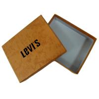 Buy cheap Rigid Paper Gift Custom Boxes Printing Services for Packaging clothes with levi's logo from wholesalers