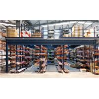 Buy cheap Multi Tier Warehouse Mezzanine Systems , Mezzanine Floor Racking System For Small Goods from wholesalers