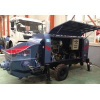 Buy cheap 30m3 40m3/hr Small trailer hydraulic concrete pump with diesel or electric power from wholesalers