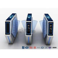 Buy cheap 2 Lanes Flap Barrier Turnstile With Ticket Manament System With Light In Cinema from wholesalers