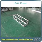 Buy cheap Aluminum bolt truss square truss arc truss structure lighting bolt truss stage portable truss system from wholesalers
