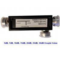 Buy cheap 5G High Power Dual Directional Coupler DIN Female Connector 698-3800MHz Frequency from wholesalers