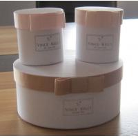 Buy cheap Round Paper Gift Boxes with ribbon bowknot, Paper Gift Packaging from wholesalers