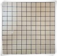 Buy cheap Pure White Green Blue Crystal Glass Mosaic from wholesalers