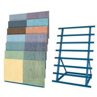 Buy cheap Round ceramic tiles display boards rack from wholesalers