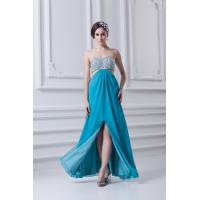 Buy cheap Custom High End Chic Floor Length Long Homecoming Dresses Beading Party Gown from wholesalers